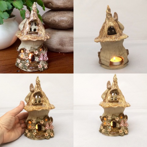 Fairy house oil burner
