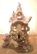 1. Fairy house lamp