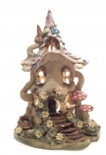Tiled Roof Fairy Lamp