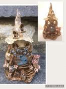 6. Fairy House...Mouse, ladybirdand butterfly