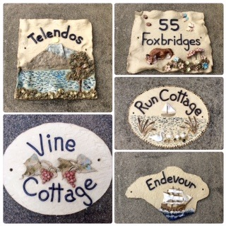 House name plaque commissions