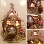 Woodland Cottage Lamp