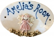 Fairy Name Plaque