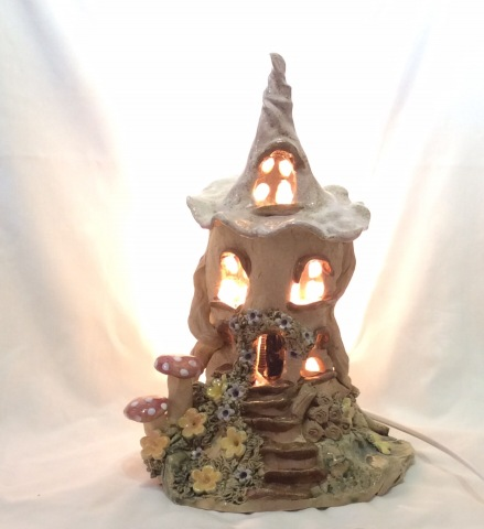 Witch House Lamp